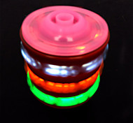 Wooden Music Gyro with Colorful Lights Toy(Random Color)