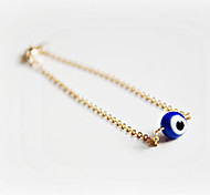 Shixin® Fashion Eye Shape Blue Resin Charm Bracelets(1 Pc)