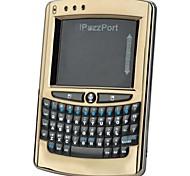 ipazzport kp-810-05V mini drahtlose 2,4 GHz 57-Tasten-Tastatur Stimme - black