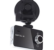 2,7 polegadas tela Full HD 1080p Cam traço Lens 140 graus com G-sensor K6000 Car Dvr