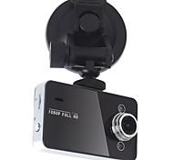 2,7-Zoll-Display Full-HD-1080P Dash Cam 140 Grad-Objektiv mit G-Sensor K6000 Auto Dvr
