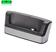 Cradle Docking Base Station Charging Cradle Dock with Battery Slot Micro USB +USB Cable for HTC One Max