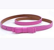Women Skinny Belt / Waist Belt,Vintage / Cute / Party / Work / Casual Alloy / Leather All Seasons