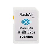 Original Toshiba FlashAir Wireless WiFi 32GB Class 10 SDHC Memory Card