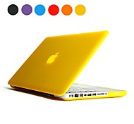 "Sólido Color del caso Frosted dura de la PC para el MacBook Pro de 13 ""(varios colores)"