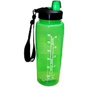 HYDRAKNIGHT 750ML PP Green Cycling Water Bottle
