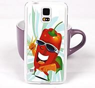 Sweet Pepper Pattern PC Back Case for Samsung S5/I9600