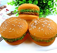 Hamburger Voice PVC Toy For Pets Dogs