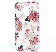 Las Flores de todo el patrón Sky Case de silicona suave para Sumsang Galaxy S5Mini