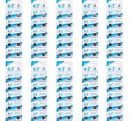 pegote ag7/lr927/395/195 pilas de botón alcalinas 1.5v celular (10 pcs packs/100)