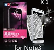Diamond Anti-radiation Screen Protector for Samsung  Galaxy Note 3(1PCS)