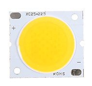 20W COB 1800-1900LM 3000K Warm Chip LED a luce bianca (30-34V, 600uA)