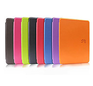 Litchi Grain Pattern Solid Color Auto Sleep and Wake Up PU Leather Case for Kindle Paperwhite(Assorted Color)