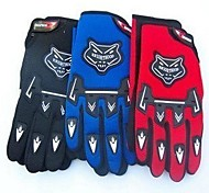 Glove Cycling / Bike All / Men's Full-finger Gloves Summer / Autumn Red / Black / Blue Others - Others