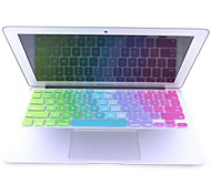 coosbo® Colorful Silicone Keyboard Cover Skin for Apple Mac Macbook Air Pro/Retina G6 13 15 17 US Version Layout