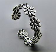 Shixin® Classic Handmade Flower Shape Toe Ring(1 Pc)