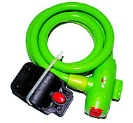 IFire High Quality Steel PVC+ABS Green Bike Bicycle Lock