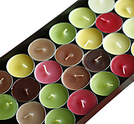 aromaterapia velas criativas para mostrar o amor 6pcs/set