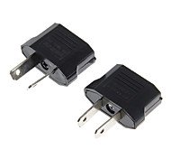 US Socket to AU Plug AC Power Adapter Plug + AU Socket to US Plug AC Power Adapter Plug(2 PCS)