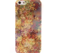 Yellow leaf Design Soft Case for iPhone 5/5S