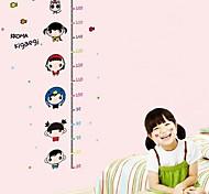 Doudouwo ® мультфильм Детская Измерение высоты стены стикеры