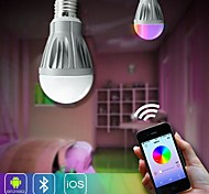 H+LUX™ E26/E27 7 W 30 SMD 5630 600 LM Color-Changing B Dimmable/Remote-Controlled/Sensor/Decorative Globe Bulbs AC 85-265 V