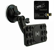 Qi Wireless Car Charger for Samsung Galaxy Note 2 Note II N7100(Wireless Charging Pad and Receiver Included)