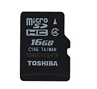 TOSHIBA SD-C32GR6W4 MicroSDHC Memory Card  (16GB / Class 4)