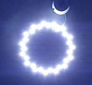 15W 6500K 30-5730 SMD LED White Light Ceiling Light Source  (AC85~265V)