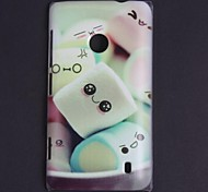 Cartoon Design Lovely Expression Pattern Hard Case for Nokia N520