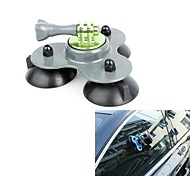 Big Size Removable Gopro Suction Cup Mount with Screw (Gray)