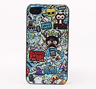 Animals Style Protective Back Case for iPhone 4/4S