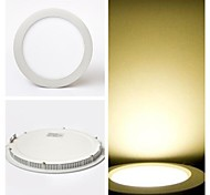 9 W 40 SMD 2835 700 LM Warm White Recessed Retrofit Ceiling Lights / Panel Lights AC 85-265 V