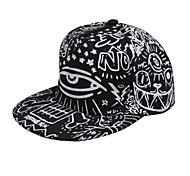 de moda y garabatos del sombrero del sol de los hombres de las mujeres al aire libre