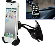 360 Degree Rotate Universal Car Holder Fit All 108-135mm Length Smart Phone for iPhone/iPad and Others