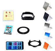 11 en 1 los filtros establecidos para la lente de 49mm / 52mm / 55mm / 58mm / 62mm / 67mm / 77mm