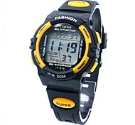 Children's Sporty  Digital Silicone Band Wrist Watch Cool Watches Unique Watches