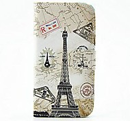 Wallet Style Tower PU Leather Full Body Case with Stand and Card Slot for Nokia Lumia 630