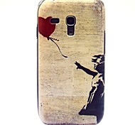 Flying The Red Ball Pattern Hard Plastic Case for Samsung Galaxy S3 mini I8190