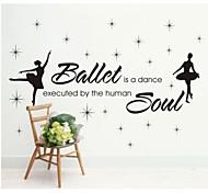 JiuBai™  Ballet Soul Home Decoration Wall Sticker Wall Decal