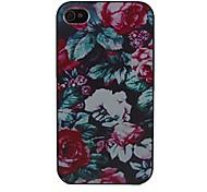schöne Rose für iPhone 4 / 4S Entwurfs-harter Fall