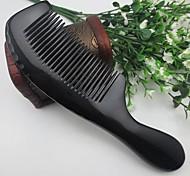 Natual Length Around 18-20cm  Black Horn Comb Random Delivery