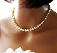 Shixin® Fashion Simple Beautiful Wedding Pearl Necklace(1 Pc)
