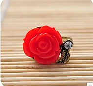 Retro Rose Female Ring