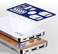 Banco de potência 8000mAh foxsky para dispositivos móveis