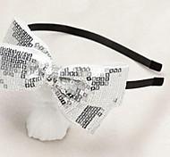 diadema hecha a mano de la niña con el arco toulejour® artística de gran tamaño