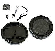 -43mm jnjtg tapa de la lente de 43 mm kushop para Canon Powershot Pro1 con correa titular correa