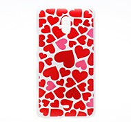Kinston the Ocean of Heart Pattern Plastic Hard Case for Nokia Lumia 1320