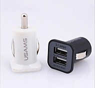 Dual USB Car Cigarette Powered Charger for iPhone/Samsung and Others(5v,3.1A)
