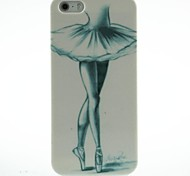 Ballet Girl Pattern Hard Case for iPhone5/5S